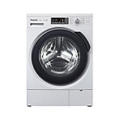 Panasonic NA-168VG4W Washing Machine, 8 Kg Load, 1600 RPM Spin, White, A+++ Energy
