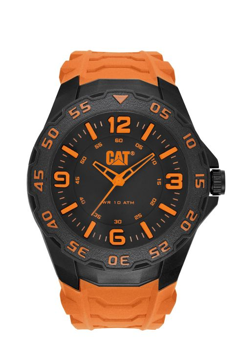 CAT Motion Mens Rubber Seconds Watch LB.111.24.134