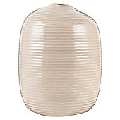 Tesco Organic Bottle Vase Taupe