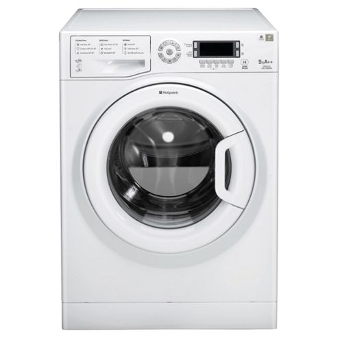 Hotpoint WMUD942P Washing Machine, 9kg Load, 1400 RPM Spin, A++ Energy Rating, White