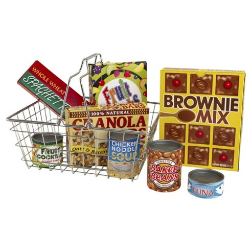 Play House - Shopping basket / Grocery Basket - Melissa And Doug
