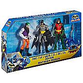 """Batman Unlimited Figure 3-Pack - Batman, Robin & The Joker"""