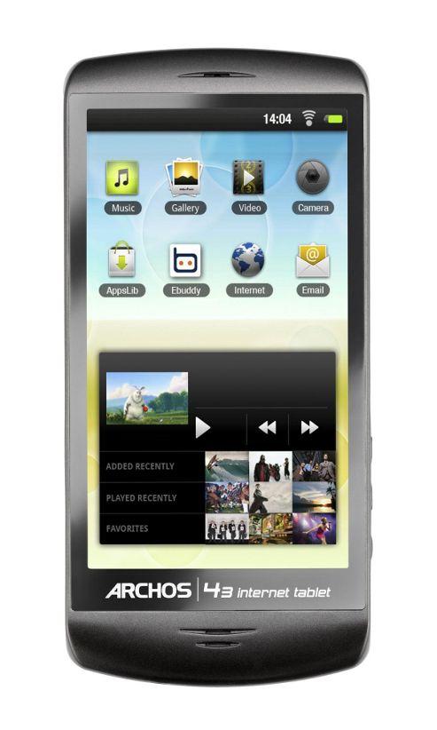 Archos Technology 43 Internet tablet 16GB 10.9cm (4.3in) HDMI16 GB