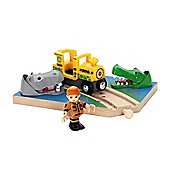 Brio Railway Safari Crossing