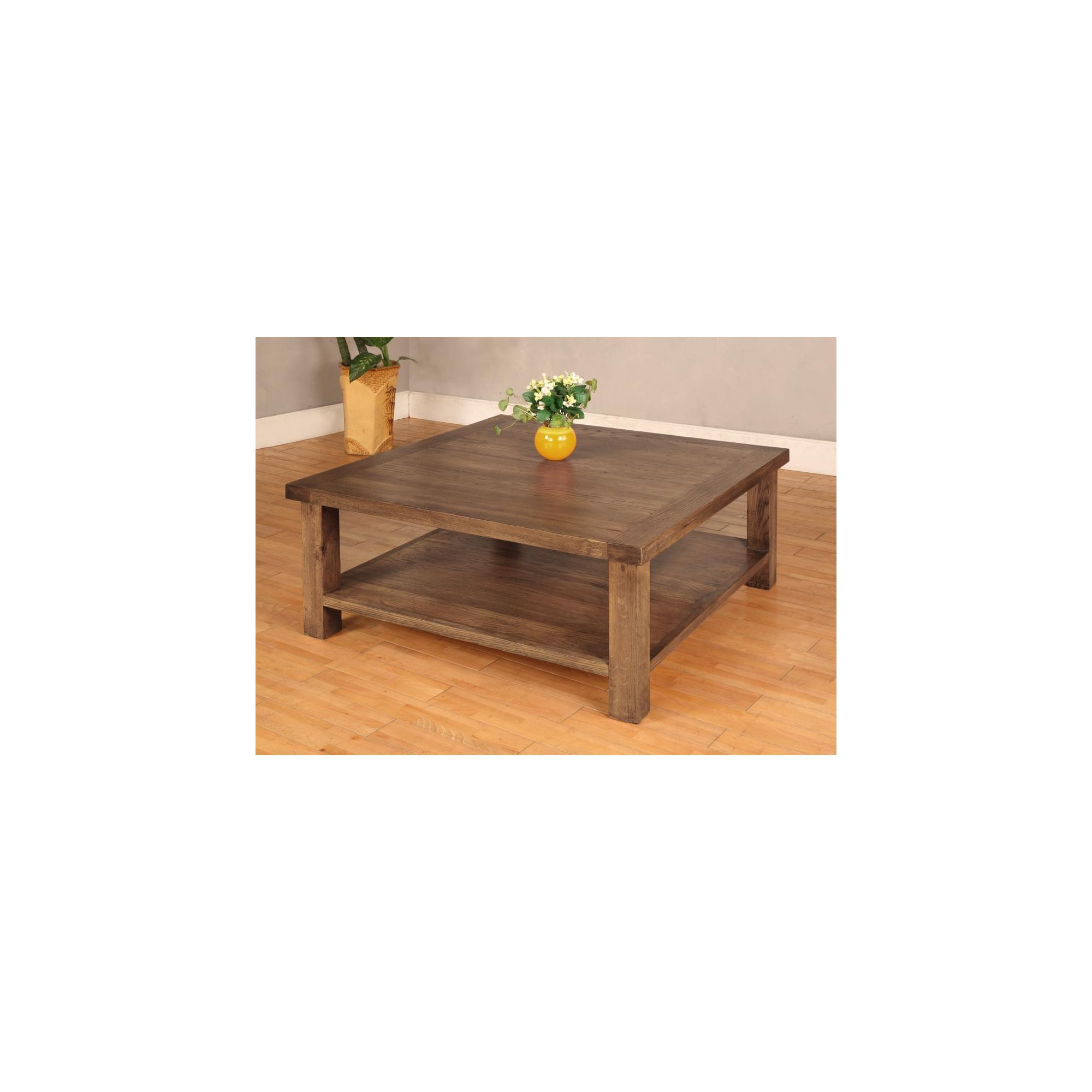 Hawkshead Brooklyn Square Coffee Table at Tesco Direct
