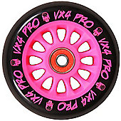 Madd Gear MGP Pro Wheel 100mm inc Bearings - Pink/Black