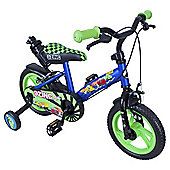 "Zinc 12"" Blue & Green Cars Bike"