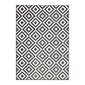 Think Rugs Matrix Grey Rug - 160 cm x 220 cm (5 ft 3 in x 7 ft 3 in)
