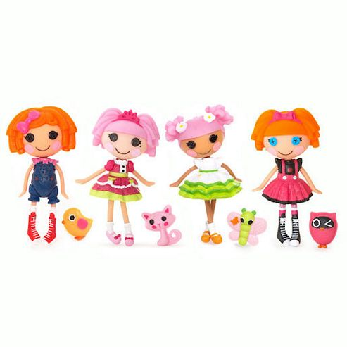 Mini Lalaloopsy Dolls 4 Pack - Set 13