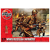 Airfix 1:72 Scale WWII Russian Infantry Model Kit