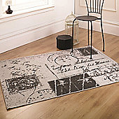 Florence Voyage Charcoal 120x170 cm Rug