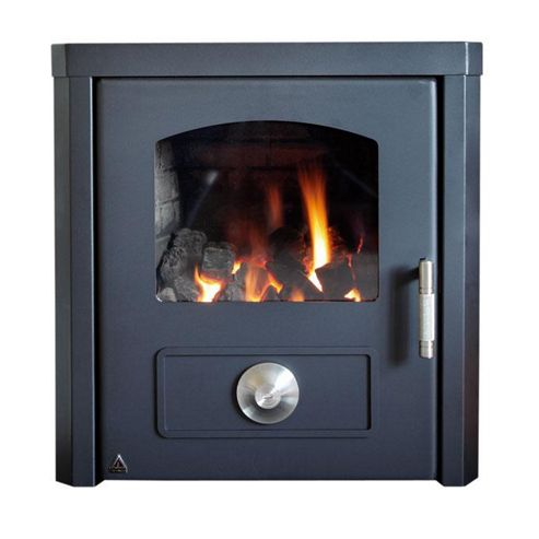 Trianco TRH45 Solid Fuel Room Heater 13kW - New Design with Large Glass Front