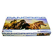 Panorific Bonnie Marris Horses 750 Piece Puzzle