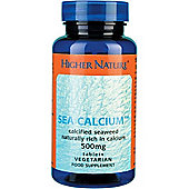Higher Nature Sea Calcium 180 Veg Tablets