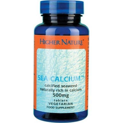 Higher Nature Sea Calcium 180 Veg Tablets