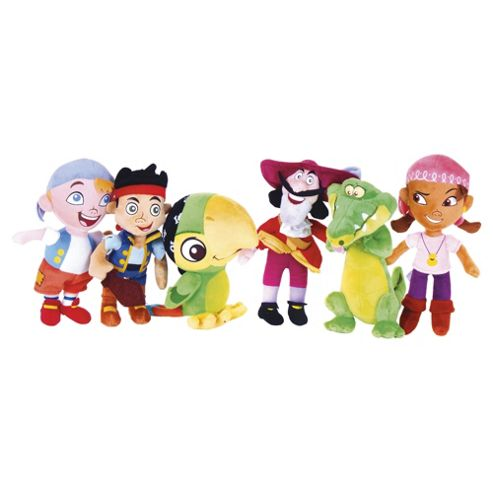 Jake & The Neverland Pirates Mini Soft Toy 8