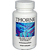 Thorne Research Olive Leaf Extract 500Mg 60 Veg Capsules