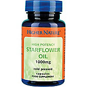Higher Nature Starflower Oil 1000mg 30 Gel Capsules
