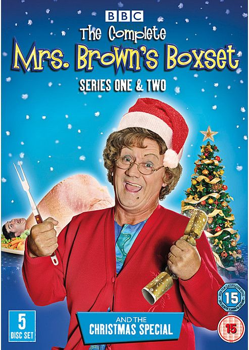 Mrs Brown'S Boys - Complete Collection  (DVD Boxset)