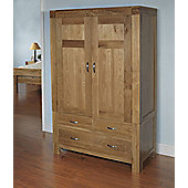 Ametis Santana Blonde Oak Double Wardrobe