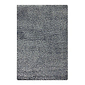 Esprit Super Glamour Anthracite Modern Rug - 133 cm x 200 cm (4 ft 4 in x 6 ft 7 in)