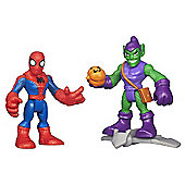 Playskool Super Hero Adventures Spider-Man and Green Goblin