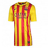2013-14 Barcelona Away Nike Stadium Shirt