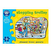Orchard Toys Shopping Trolley - Shaped Floor Puzzle