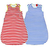 Grobag Wash & Wear Deckchair & Seaside - 1.0 Tog (0-6 months)