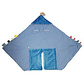 Snoozebaby Wrap Blanket - Dolphin Blue