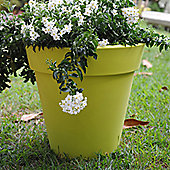 Farmet New Pegasus Conic Pot - Green - 46cm H x 50cm W x 50cm D