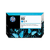 HP 80 Ink Cartridge - Cyan