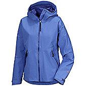 Didriksons Ladies Meduna Waterproof Coat - Blue