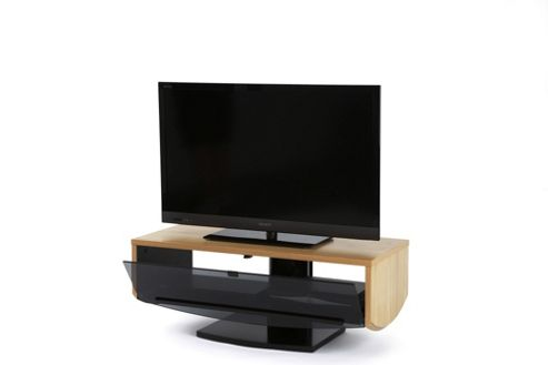 Off The Wall Eclipse TV Stand - Oak Veneer