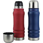 Yellowstone 500ml Colour Steel Flask - 2 Pack