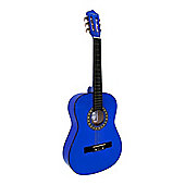 """Martin Smith 36""""( 3/4) Size Ac Classical Guitar - Blue"""