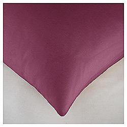 Housewife Pillowcase Twinpack - Burgundy