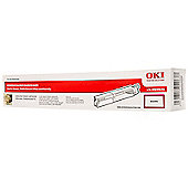 OKI Toner Cartridge for C3300/C3400/C3450/C3600 Desktop Colour Printers (Magenta)
