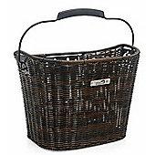 New Looxs Lombok Front Basket 19L Rattan Dark