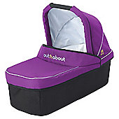 Out n About Nipper Carrycot, Purple Punch