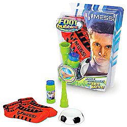 Messi Footbubbles Foot Bubbles Starter Pack with Socks (Red)