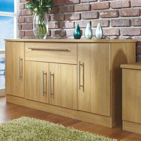 Welcome Furniture Living Room Wide 4 Door / 1Drawer Unit - Panga