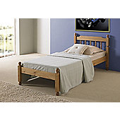 Amani Colonial Bed Frame - Single (3') - Waxed pine