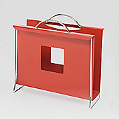 Hispanohogar Magazine Rack - Red