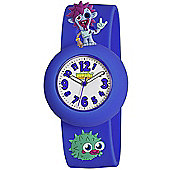 Blue Zommer Moshi Monsters Watch With Charms