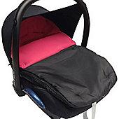 Car Seat Footmuff To Fit Maxi Cosi Cabrio Dark Pink