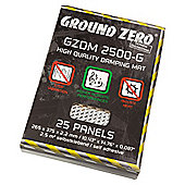 Ground Zero Damping Mat (25 Sheets)