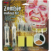 Bristol Novelty - Halloween Special Effects Makeup - Zombie Man Kit