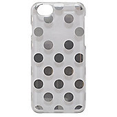 Tortoise Hard Protective Case,iPhone 6, Clear with silver spots.