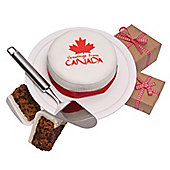 Canadian Greetings Cake